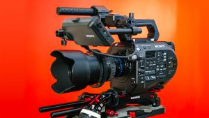 Sony FS7m2 4K video camera